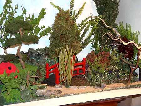 pont jardin japonais miniature - Jardin Japonais Miniature Exterieur